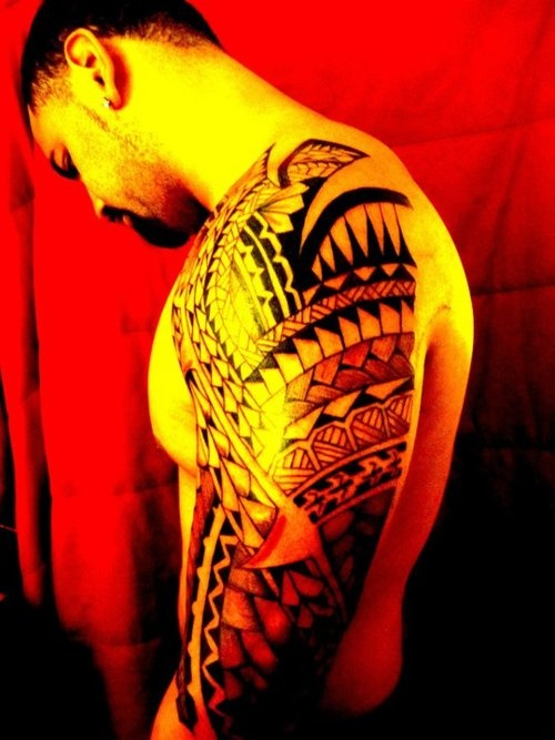 polynesian/tribal tattoos