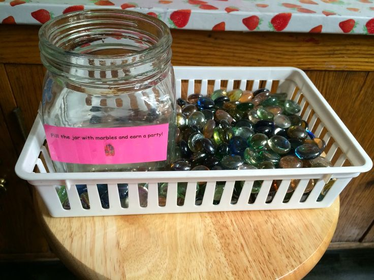 Whole Class Reward System: Marbles in a Jar