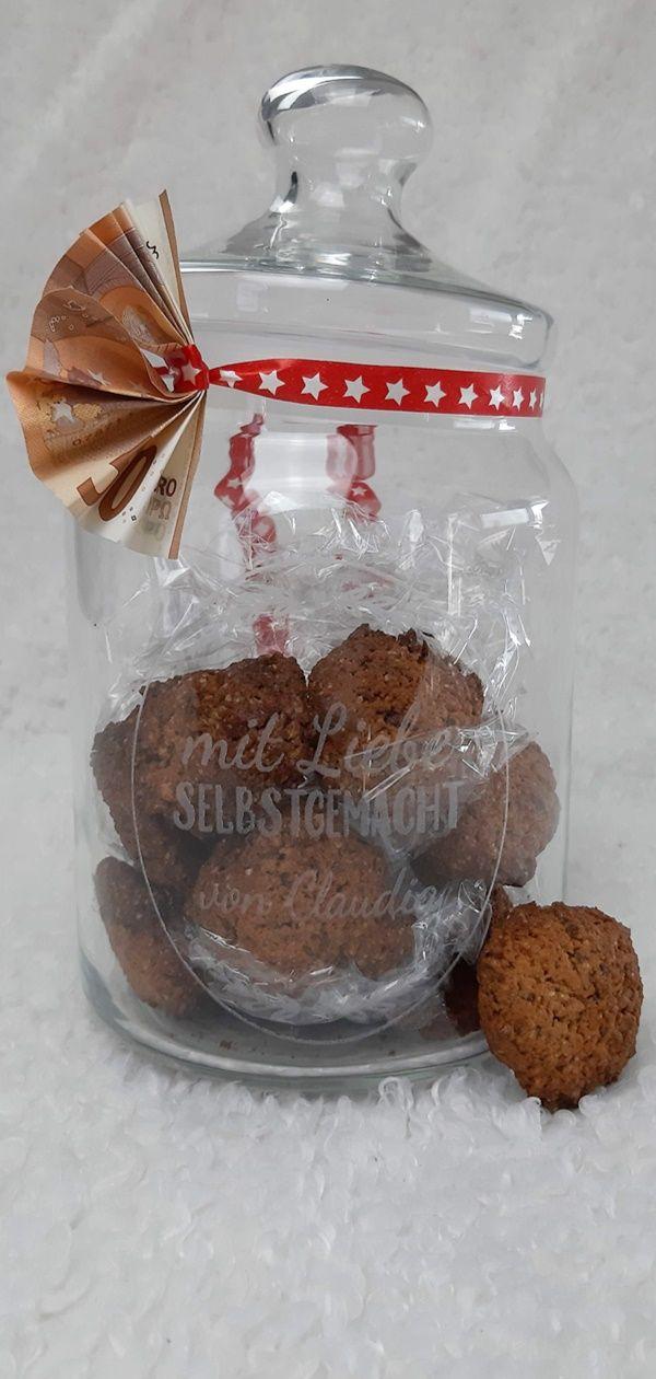 Lowcarb Kekse Und Geldgeschenke Im Glas Fur Weihnachten Food