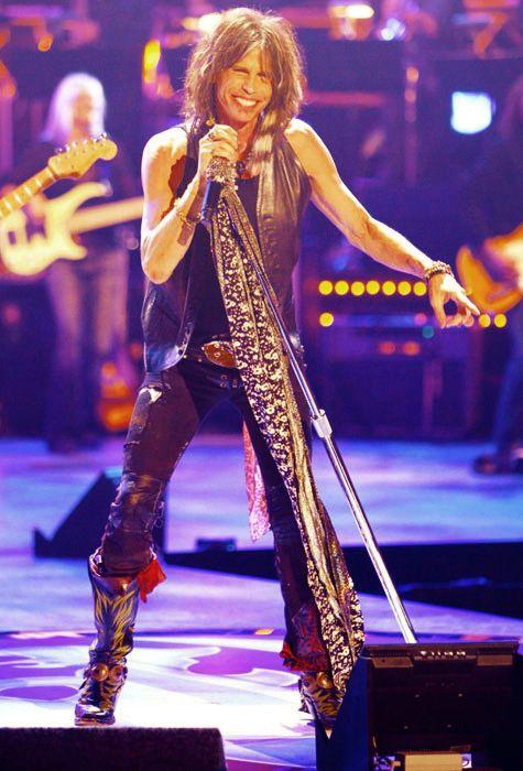 Aerosmith live....Ever since American Idol, I've liked Steven Tyler...He is something else!