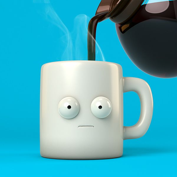 Coffee? on Character Design Served
