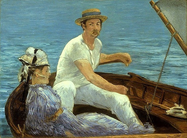 Édouard Manet (French artist, 1832–1883) Boating 1874*
