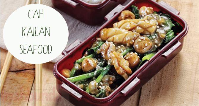 Cah Kailan Seafood :: Klik link di atas untuk mengetahui resep cah kailan seafood