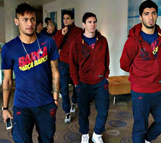Neymar, Suarez, Messi @fashionreality