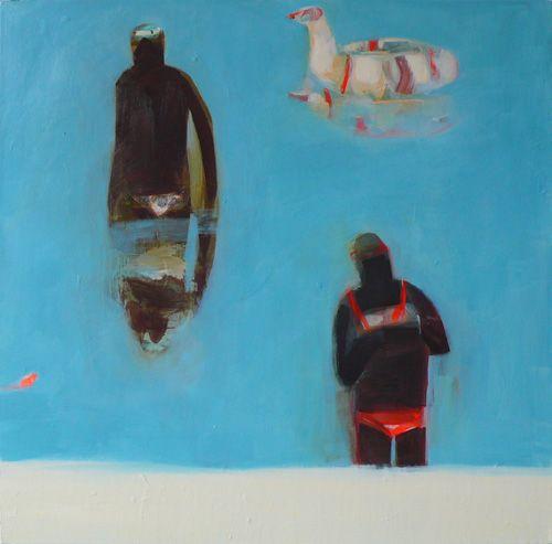becky blair * artist - paintings: glassy waters