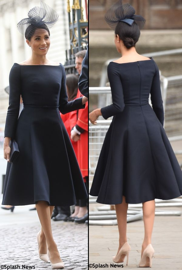 0c662562ce Meghan in Dior for Royal Air Force Anniversary – UPDATED – What Meghan Wore