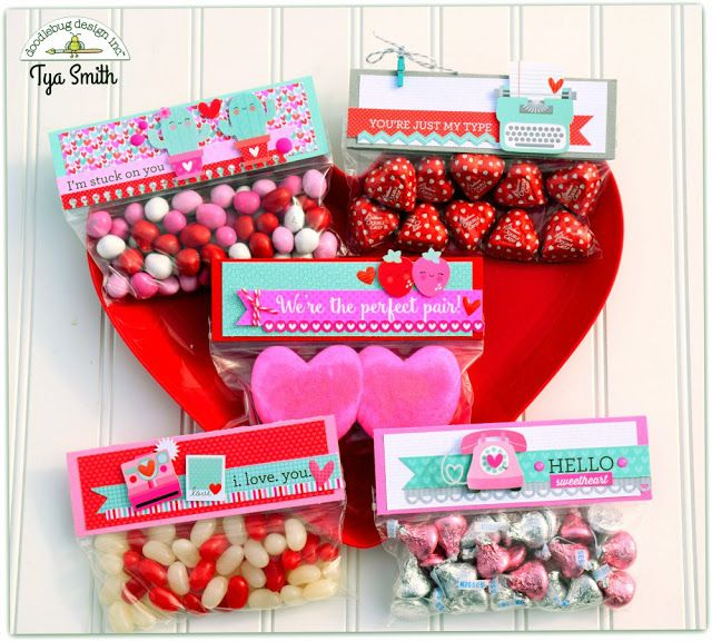 Doodlebug Design Inc Blog: Sweet Things Treat Toppers by Tya Smith