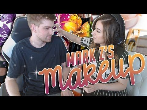 POKI DOES MARK Z'S MAKEUP http://makeup-project.ru/2017/06/25/poki-does-mark-zs-makeup/