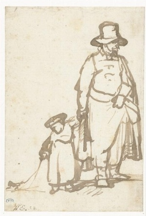 Man with boy.  Rembrandt  1643 by rosetta