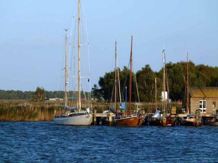 Aquarelle entstehen im Hafen von Gager   Wunderbare Segler im Hafen von Gager (c) FRank Koebsch (3)