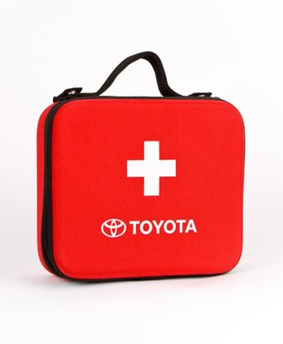 Toyota First Aid Kit in a Hard Shelled Case  http://www.carvertoyota.com