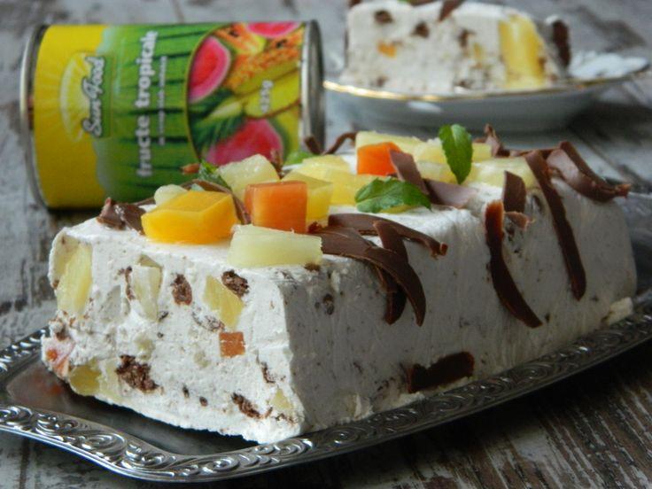 tort fructe tropicale Sun Food