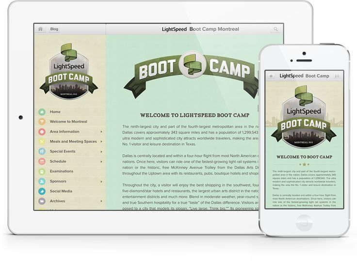 Boot Camp Mobile Guidebook designed by Kira Butler, a graphic designer and brand identity developer from Montreal. http://www.elixireleven.com