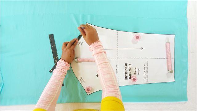 Assalamualaikum!       Setiap kali kalau kita nak buat basi pada baju mesti akan guna pembaris kan? tak pun measurement tape. Cara tu susah...