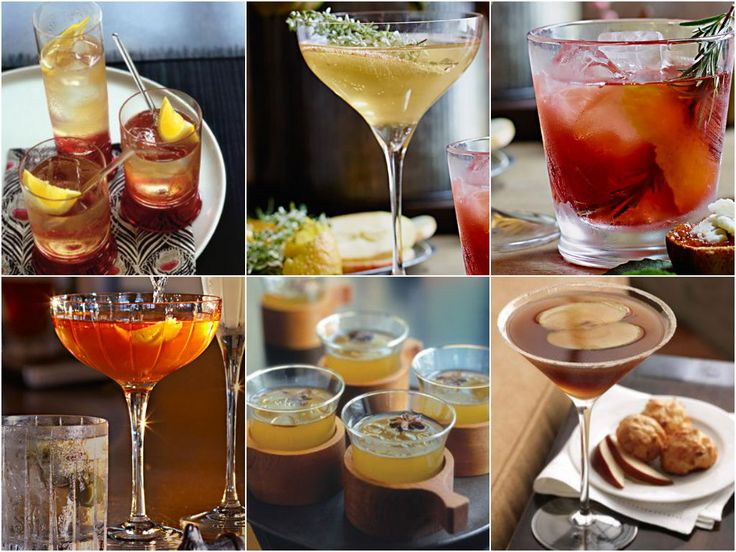 Recipe Roundup: Fall Cocktails
