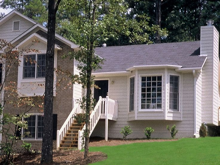 17 best images about for the home on pinterest craftsman for Tri level house
