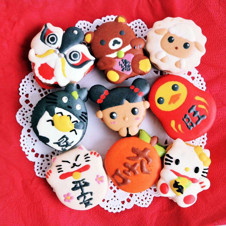 Chinese New Year series macarons