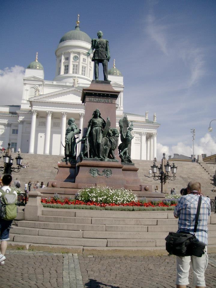 Suurkirkko in Helsinki Finland