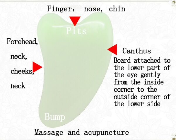 How to use facial gua sha tool