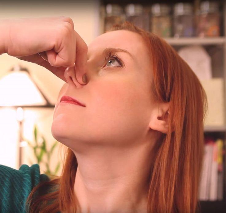 Mit diesem cleveren Trick löst sich deine verstopfte Nase in nur 2 Minuten!
