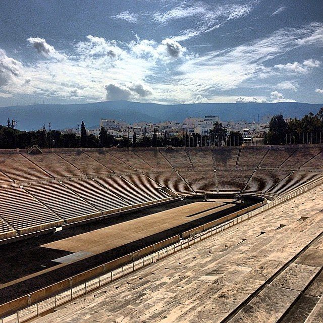 The Panathenaic Stadium where the first modern Olympic Games was hosted. Hope that Budapest keeps on and holds the Games in 2024! —————————————————————🌐Follow our family adventures as we discover Europe and share our experiences 🌐—————————————————————#🇬🇷#greece #athens #trip #travel #tourist #view #iphone #pictures_from_europe #travelgram #instatravel #instago #instagood #instadaily #instaphoto #instagram #instalike #urban #street #city #blue #colours #beautiful #summer #sun #olympics…