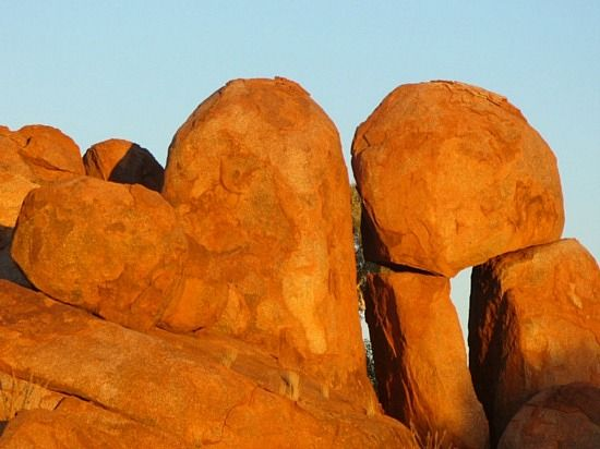 see the love heart rock, Alice Springs, Australia