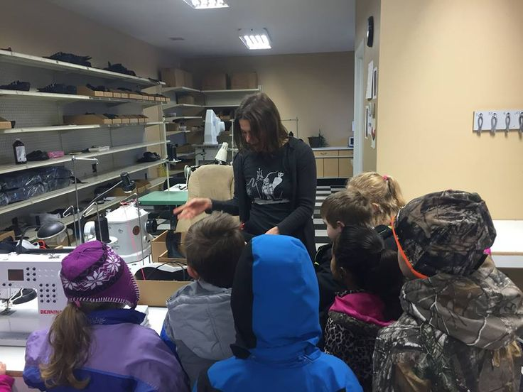 """""""The Kindergarten class from Colorado West Christian School thoroughly enjoyed their Field Trip to SOM Footwear today! Thank you for a wonderful tour!!"""" -C.B. Montrose, CO"""