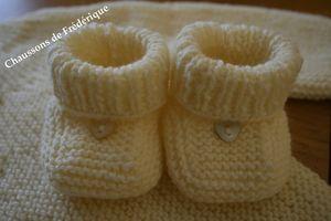 Site tricots pour bébés apprendre à tricoter des chaussons