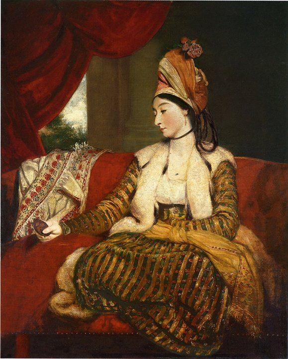 18th century Oriental dress / Turkish robe
