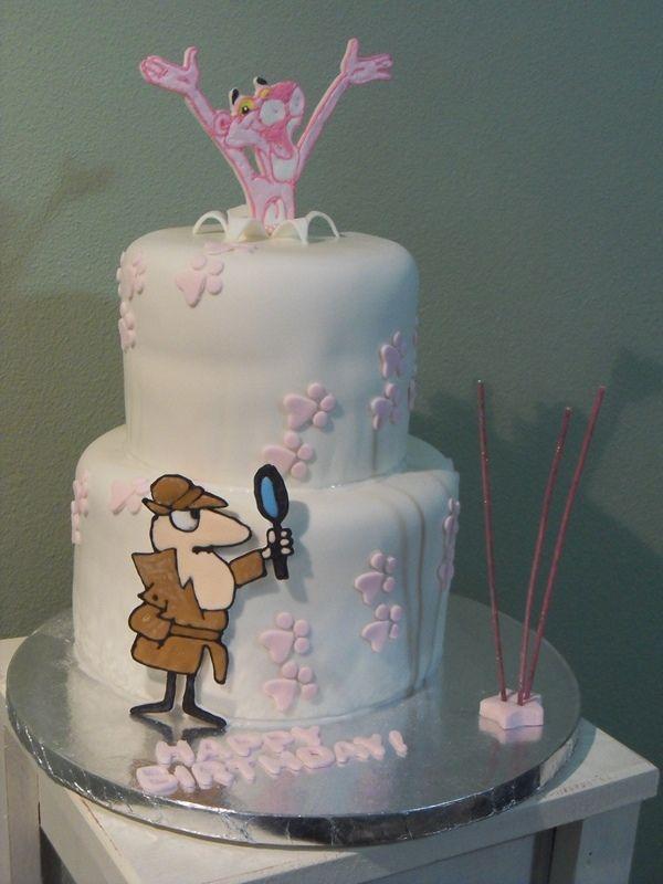 Pink Panther Cake