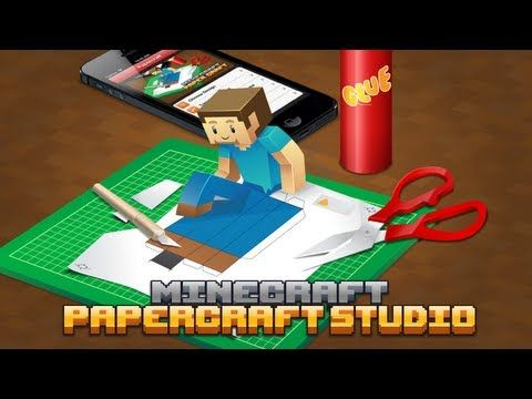Minecraft Papercraft Studio, An iOS App For Printing Papercraft 'Minecraft' Characters and Creatures