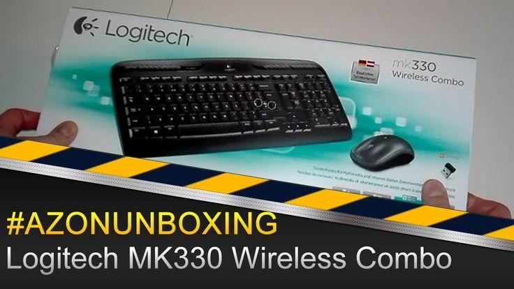 Logitech MK330 Wireless Combo Tastatur und Maus - #AZONUNBOXING Deutsch/...