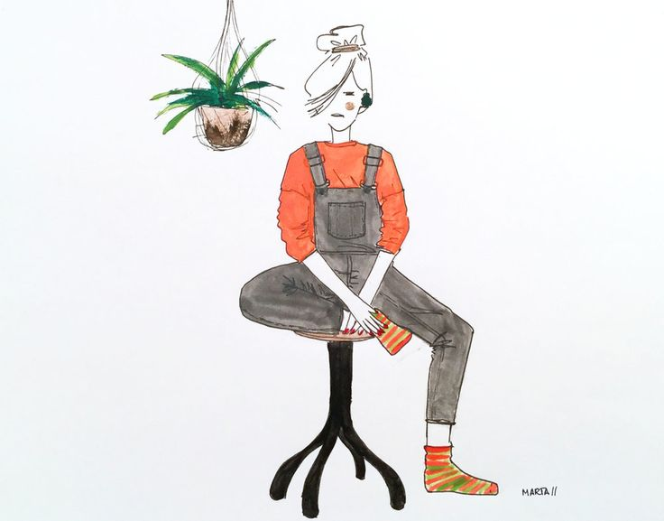 You're so weird, don't change! By Marta Scupelli • www.stripe-me.com
