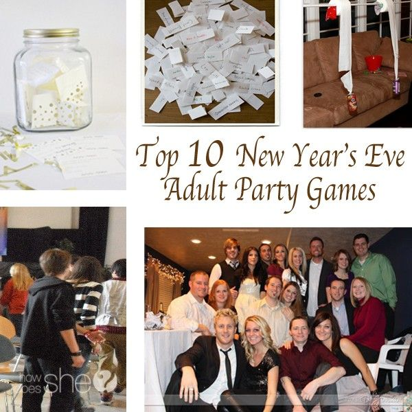 Top 10 new year 39 s eve adult party games adult party for Fun parties for adults