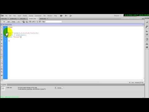 Php and Mysql tutorial count function in array