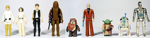 Star Wars toys!