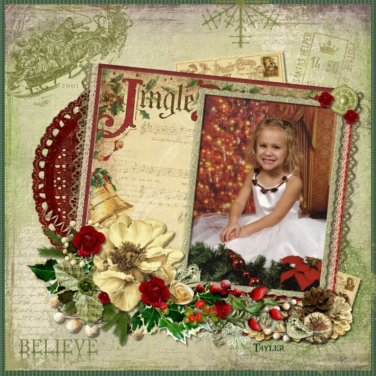 1000 images about memory scrapbook on pinterest for Christmas layout ideas
