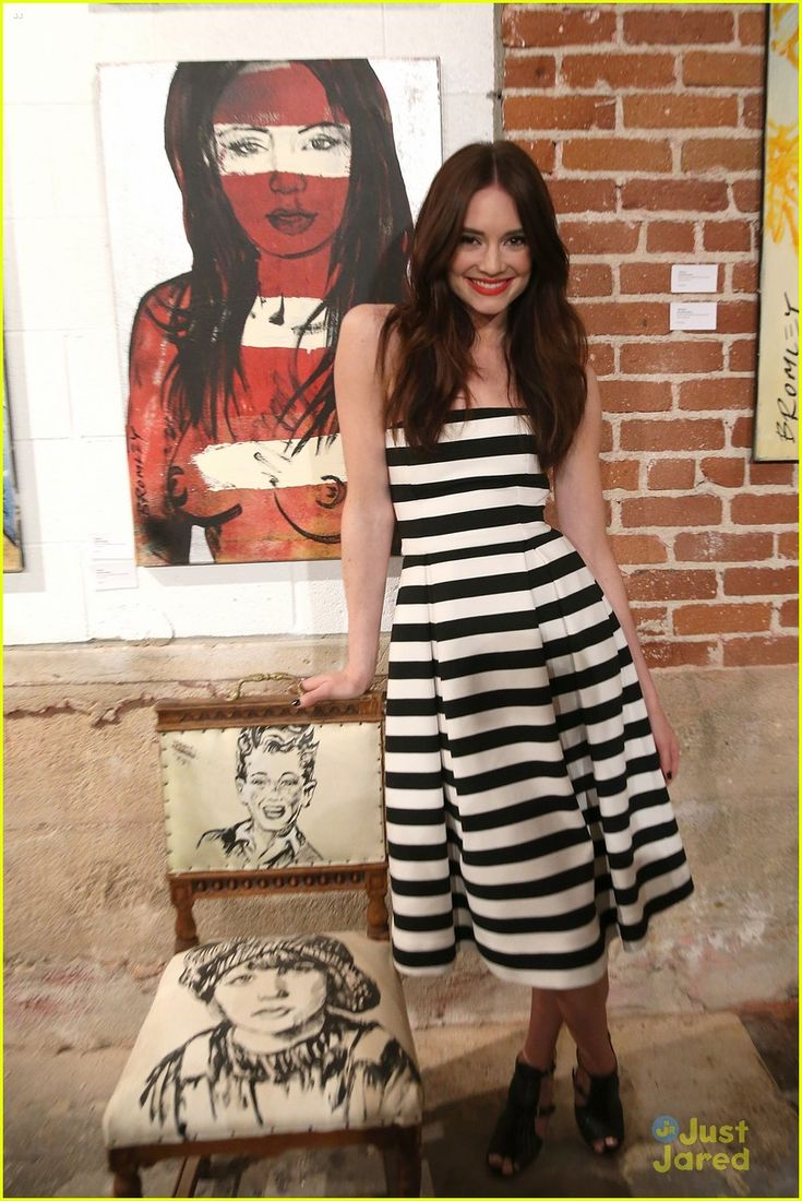 Mallory Jansen Step Out For Bromley's Debut Exhibition in LA