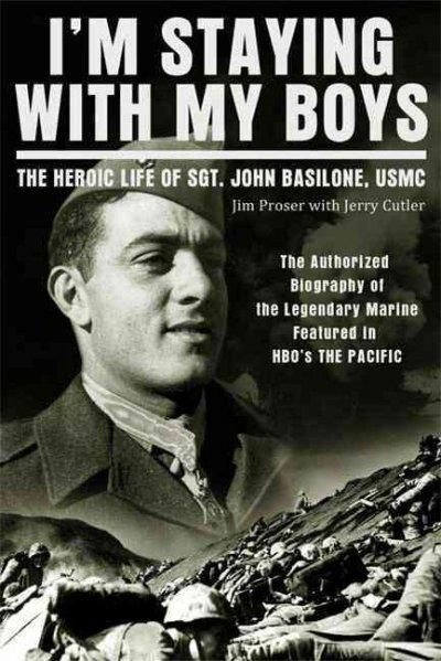 I'm Staying with My Boys is a firsthand look inside the life of one of the greatest heroes of the Greatest Generation. Sgt. John Basilone held off 3,000 Japanese troops at Guadalcanal after his 15-mem