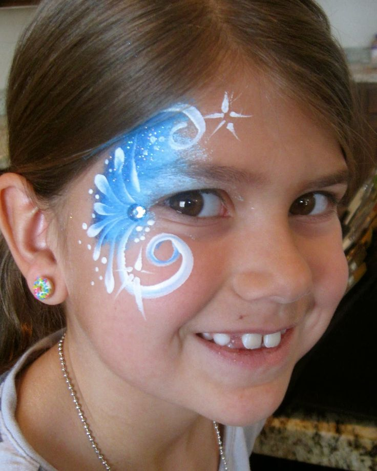 Paula taylor 39 s art face painting frozen faces alphabet for Frozen face paint