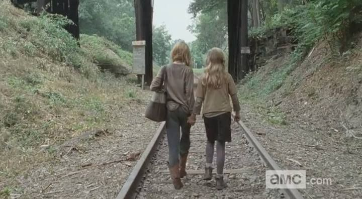 National Siblings Day; April 10.   Lizzie & Mika. Walking Dead S4