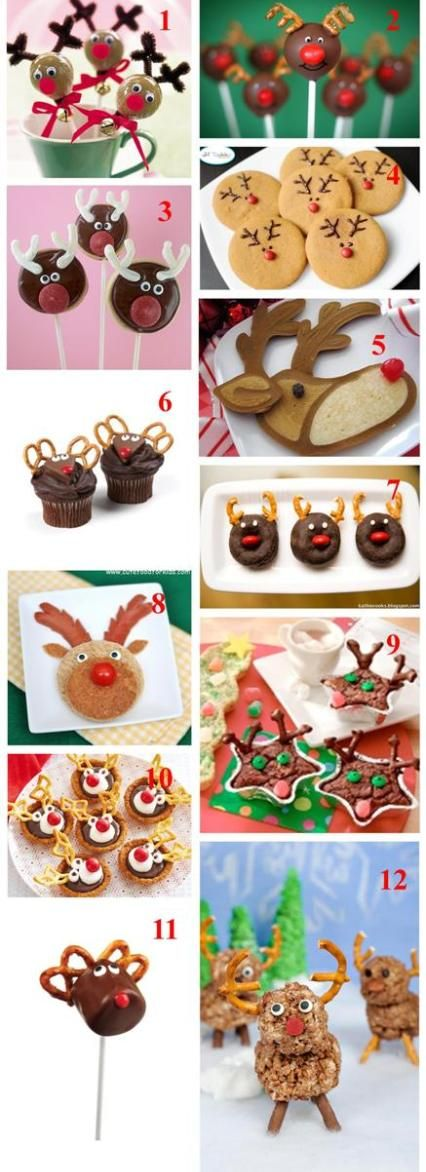 Holiday Roundup: Rudolph! · Edible Crafts | CraftGossip.com