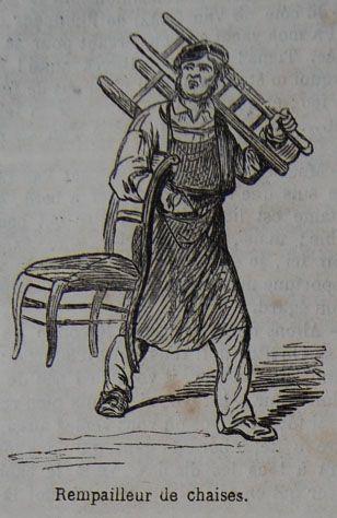 Le rempailleur de chaises