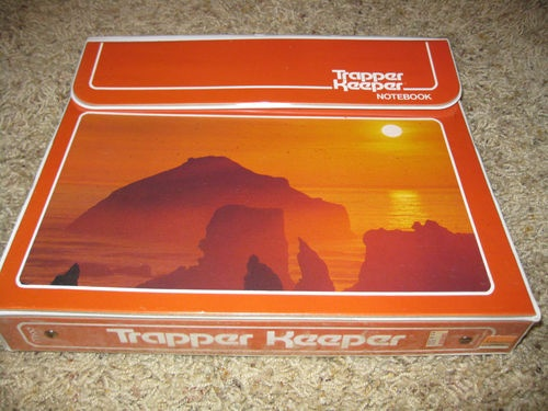 Trapper Keeper. I think this is the one I had.