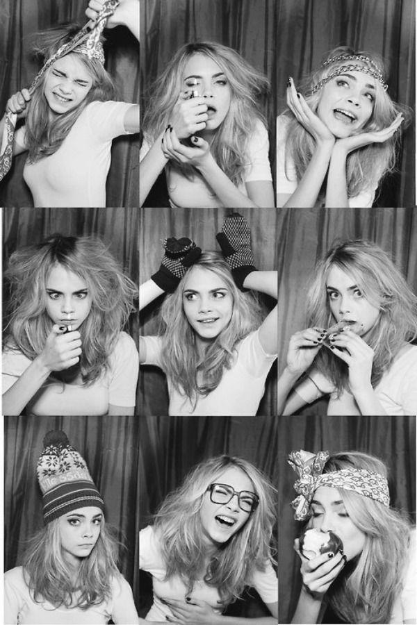 Cara Delevingne. Love her.