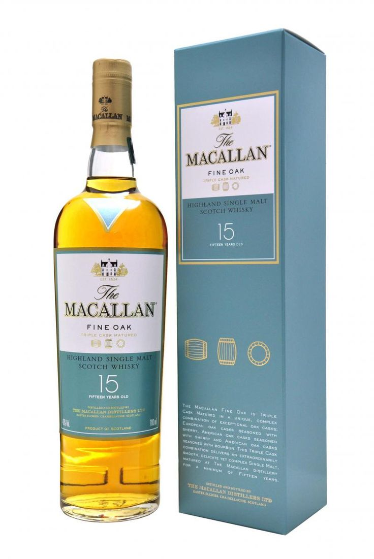 The Macallan 15 Fine Oak. What a treat! It has a very interesting nose. I smell apricots, liquorice, citrus fruits and spices. The taste is spicy  but smooth, again with liquorice but now with honey and cinnamon. The finish is quite long and starts a bit salty (in a good way) and develops into liquorice and cinnamon. It is a super interesting whisky, easy drinker but never boring. 91/100