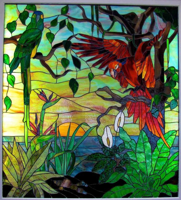 Minnesota Stained Glass, Naples Florida   Gaytee - Palmer Stained ...