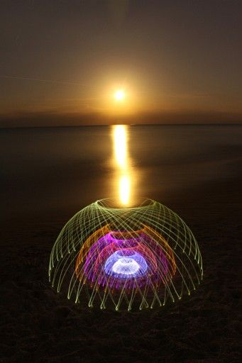 'The Beautiful Light Painting Of Jason D. Page'