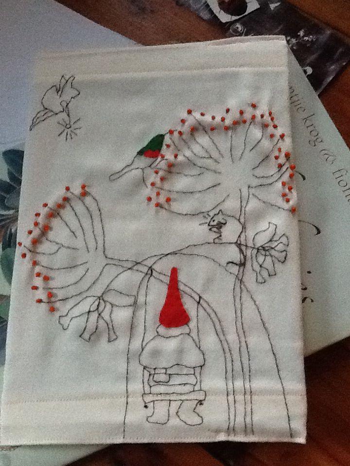 a gnome book cover