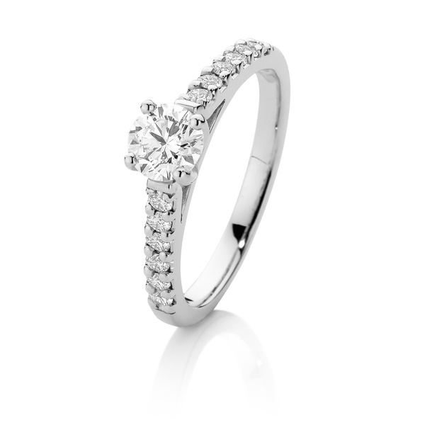 Canadian Fire 18ct White Gold Diamond Ring
